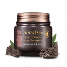 mat na dat set tro nui lua super volcanic pore clay mask innisfree  100ml
